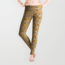Oak & Squirrels | Autumn Yellows Palette Leggings