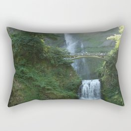 Multnomah Falls Rectangular Pillow