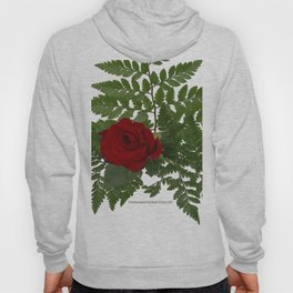 Rose in Winter Hoody