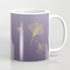 Ginkgo Purple Gold Mug