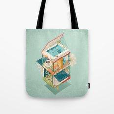 Creative house Tote Bag
