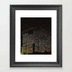 Photon Traffic Framed Art Print