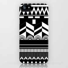 Graphic_Black&white #2 iPhone (5, 5s) Slim Case