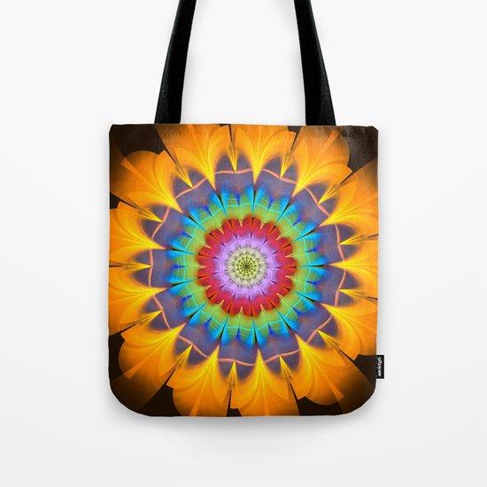 Tropical fantasy flower Tote Bag