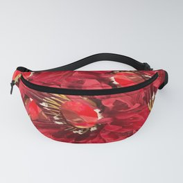 Burgundy Venetian Red Fanny Pack