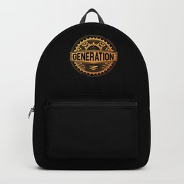 Generation Z Millenials Gen Z Gift Backpack