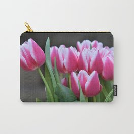 Early Spring Tulips Carry-All Pouch
