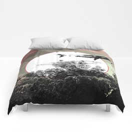Underwater Abstract Fishes Design Comforters