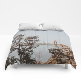 san francisco, california Comforters