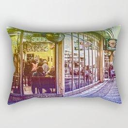 Chicken Soup Rectangular Pillow