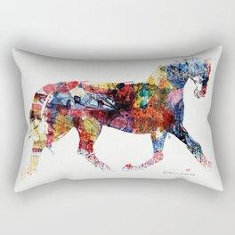 Horse (Freedom of skin) Rectangular Pillow
