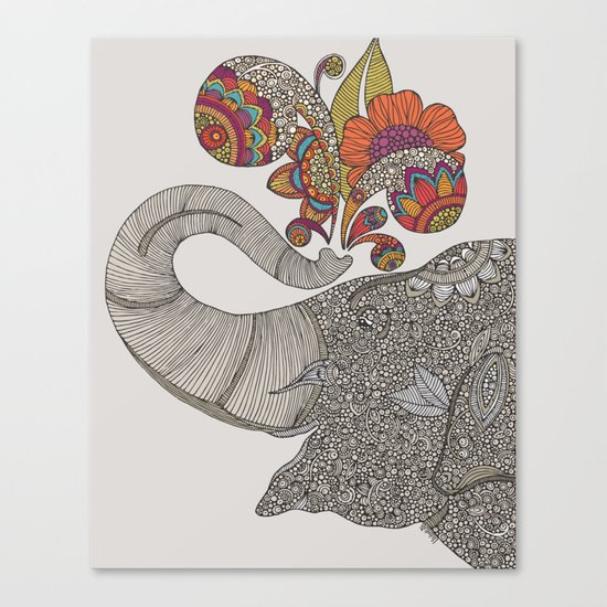 Shower of Joy Canvas Print