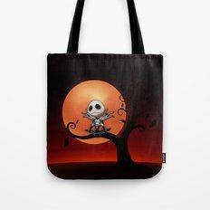 Jack Skellington Nightmare Tote Bag