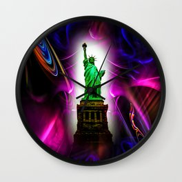 Statue of Liberty  New York Wall Clock