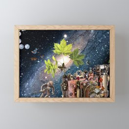 Accross the Universe Framed Mini Art Print