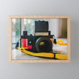Konstruktor Toy Camera Framed Mini Art Print