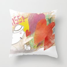 Who you gonna to KISS ? Throw Pillow