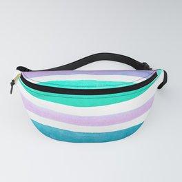 Watercolour Stripes no 6 Fanny Pack