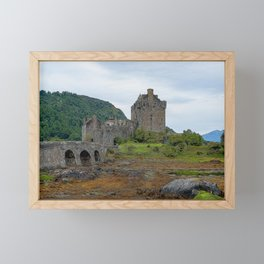 Illustration of Eilean Donan Castle - Scotland Framed Mini Art Print