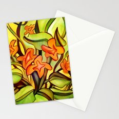 Abstract of Colors Stationery Cards