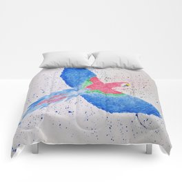 Colorful Parrot Comforters