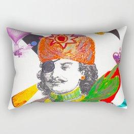 The Eccentric Duke Rectangular Pillow