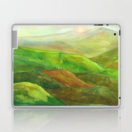 Lines in the mountains XVI Laptop & iPad Skin