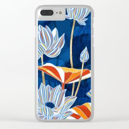 Bold Botanical Clear iPhone Case