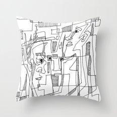 Conversation Throw Pillow