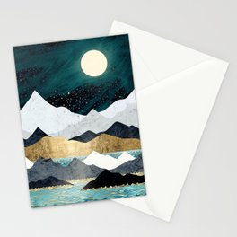 Ocean Stars Stationery Cards