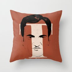 T is for Tarantino Throw Pillow