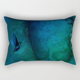 Blissful Abyss of the Muse Rectangular Pillow