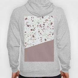 Terrazzo Texture Antique Pink #6 Hoody