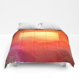 Square Composition Comforters