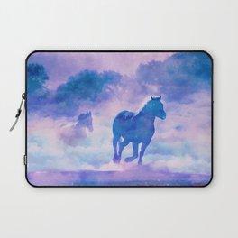 Horses run Laptop Sleeve
