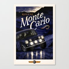 Motor Style Inc.: Rallye Monte Carlo Canvas Print