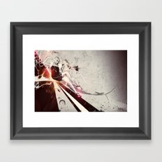 April Framed Art Print