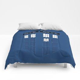 Tardis Blue Comforters