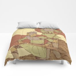 Castor And Pollux (hi-res) Comforters