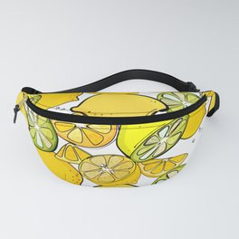 Lemon pattern Fanny Pack