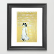 Dancing Until Flight Framed Art Print