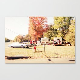 The Old and Out There Canvas Print