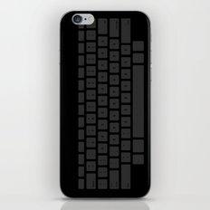 Captain's Keyboard iPhone & iPod Skin