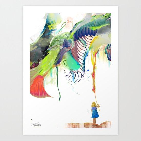 Azalia Art Print