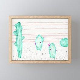 Saguaro 3 Framed Mini Art Print