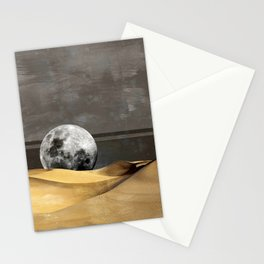 MOON DESERT Stationery Cards