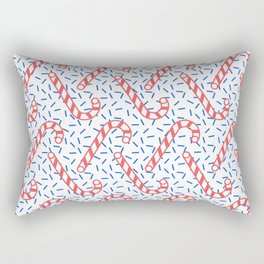 Memphis Christmas Sweets Rectangular Pillow