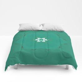 flow-er pow-er Comforters