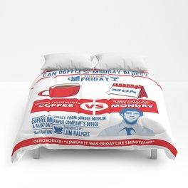 Coffee VS Monday Comforters