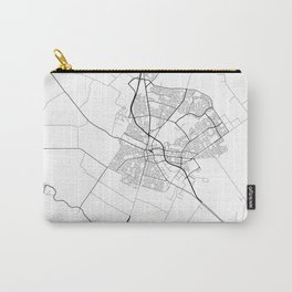 Minimal City Maps - Map Of Salinas, California, United States Carry-All Pouch